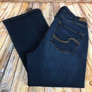 Levi's Signature Curvy BootCut Jeans Denim Pants